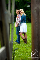 deanna and dominic's engagement session